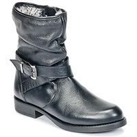 Schuhe Mädchen Boots Unisa GADIN Schwarz