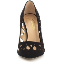 Schuhe Damen Pumps Gattinoni 6055 Pumps Frau Black Black