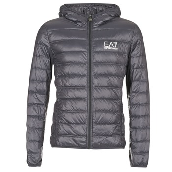 Kleidung Herren Daunenjacken Emporio Armani EA7 TRAIN CORE ID DOWN LIGHT HD Grau