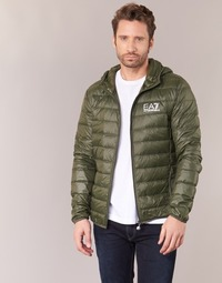 Kleidung Herren Daunenjacken Emporio Armani EA7 TRAIN CORE ID DOWN LIGHT HD Kaki