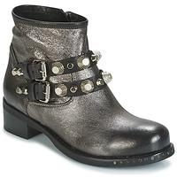 Schuhe Damen Boots Mimmu BERLO Silbern