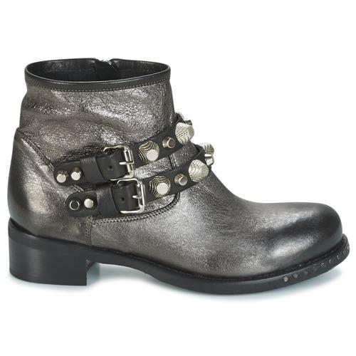 Mimmu BERLO Silbern  Schuhe Boots Damen 87,50