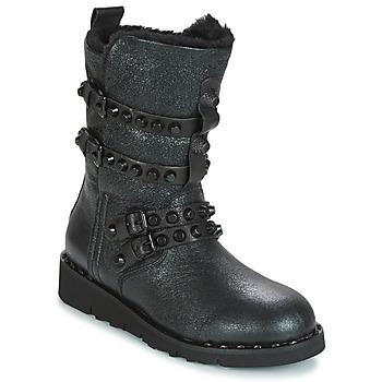 Schuhe Damen Schneestiefel Mimmu BELLA Schwarz