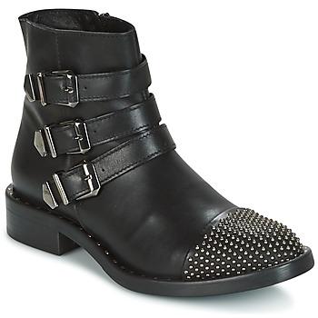 Schuhe Damen Boots Meline PESCINO Schwarz
