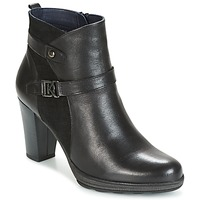 Schuhe Damen Low Boots Dorking REINA Schwarz