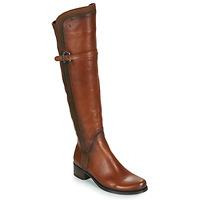Schuhe Damen Klassische Stiefel Dorking DULCE Camel