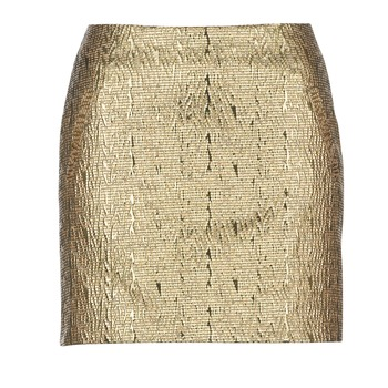 Kleidung Damen Röcke See U Soon FASOU Gold