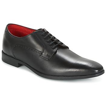 Schuhe Herren Richelieu Base London PENNY Schwarz