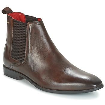 Schuhe Herren Boots Base London GUINEA Braun