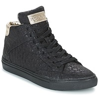 Schuhe Damen Sneaker High Replay HALL Schwarz