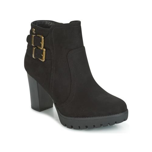 Refresh CALI Schwarz Schuhe Low Boots Damen 36