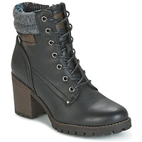 Schuhe Damen Low Boots Refresh MARVILLE Schwarz