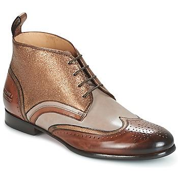 Schuhe Damen Boots Melvin & Hamilton SALLY 16 Goldfarben