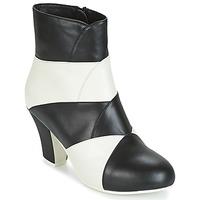 Schuhe Damen Low Boots Lola Ramona ELSA Weiss / Schwarz