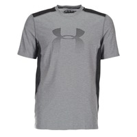 Kleidung Herren T-Shirts Under Armour UA RAID GRAPHIC SS Grau / Schwarz
