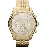 Uhren Herren Analoguhren MICHAEL Michael Kors Lexington MK8281  Herrenuhr Gold