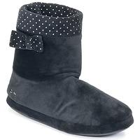 Schuhe Damen Hausschuhe DIM RIBECRY Schwarz