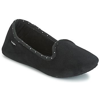 Schuhe Damen Hausschuhe DIM RIZECRY Schwarz