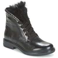 Schuhe Damen Boots Mjus CAFE LACE Schwarz