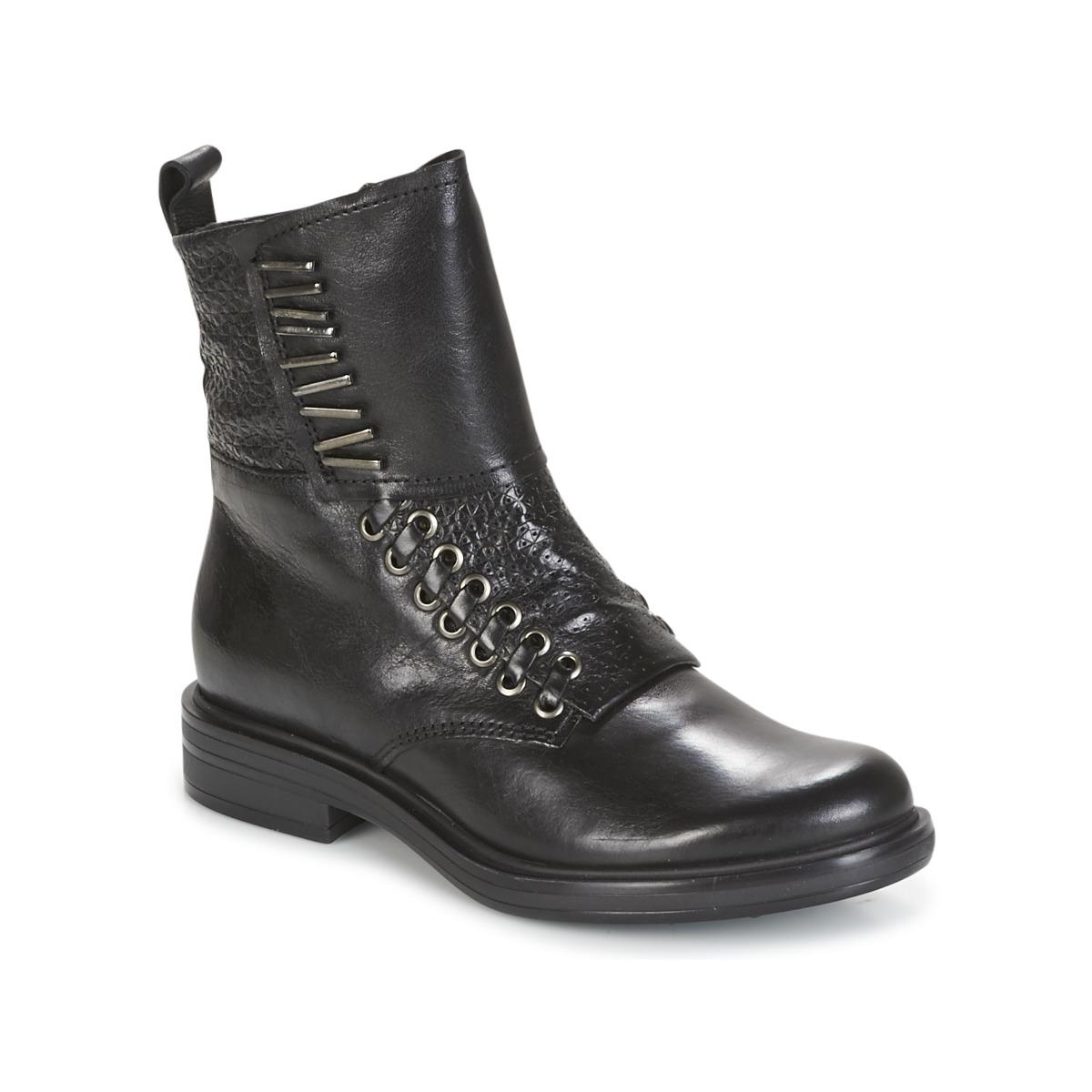 Mjus CAFE Schwarz - Kostenloser Versand bei Spartoode ! - Schuhe Boots Damen 127,20 €