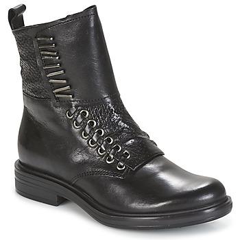 Schuhe Damen Boots Mjus CAFE Schwarz