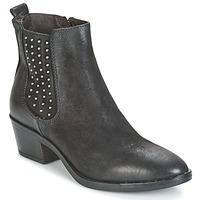 Schuhe Damen Low Boots Mjus FRESNO STUDS Schwarz