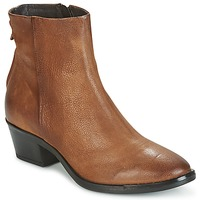 Schuhe Damen Boots Mjus FRESNO ZIP Braun