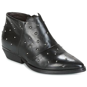 Schuhe Damen Ankle Boots Mjus CHRISSIE STUD Schwarz