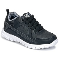 Schuhe Jungen Sneaker Low Freegun FG VINO Schwarz