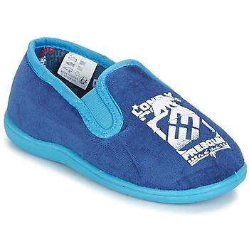 Schuhe Jungen Hausschuhe Freegun FG NADAM Blau