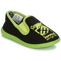 Schuhe Jungen Hausschuhe Freegun FG NADAM Schwarz