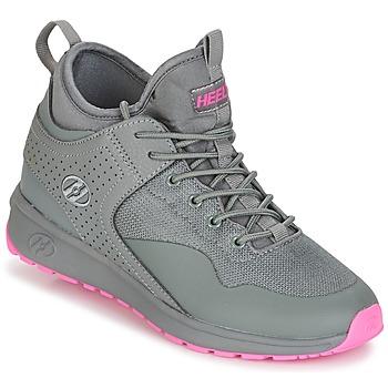 Schuhe Mädchen Rollschuhe Heelys PIPER Grau / Rose