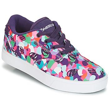 Schuhe Mädchen Rollschuhe Heelys LAUNCH Violett / Multicolor
