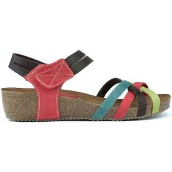 Schuhe Damen Sandalen / Sandaletten Interbios HAPPY COLOURS MULTICOLOR
