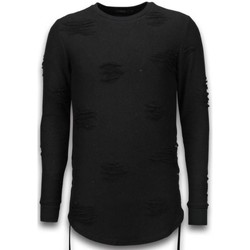 Kleidung Herren Sweatshirts Justing  Schwarz