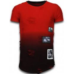 Kleidung Herren T-Shirts Justing  Rot