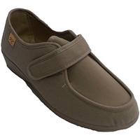 Schuhe Damen Sneaker Low Doctor Cutillas Sehr breite Klettschuhe sehr empfindlich Beige