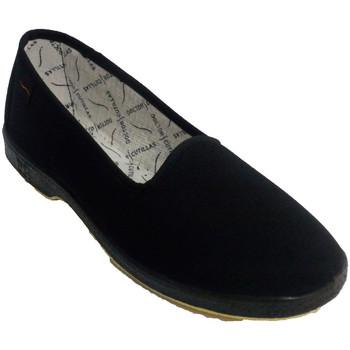 Schuhe Damen Hausschuhe Doctor Cutillas Flache Schuh spezielle ältere Frau Docto Schwarz