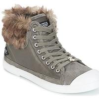 Schuhe Damen Sneaker High Le Temps des Cerises BASIC 03 Grau