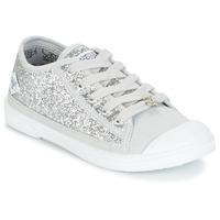 Schuhe Mädchen Sneaker Low Le Temps des Cerises BROOK Silbern