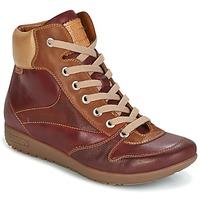 Schuhe Damen Sneaker High Pikolinos LISBOA W67 Braun
