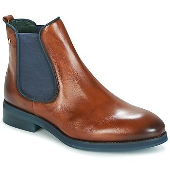 Schuhe Damen Boots Pikolinos ROYAL W5M Braun