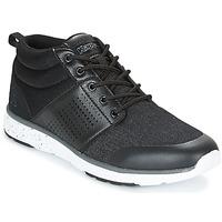 Schuhe Herren Sneaker High Kappa NASSAU MID Schwarz / Grau
