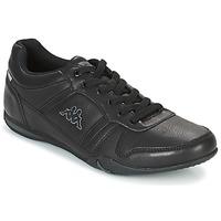 Schuhe Herren Sneaker Low Kappa PARHELIE Schwarz / Grau