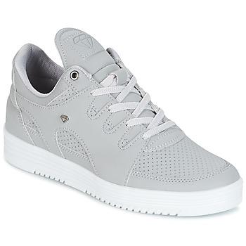 Schuhe Herren Sneaker Low Cash Money STATES Grau / Weiss