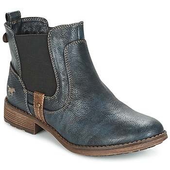Schuhe Damen Boots Mustang NANI Marine