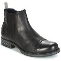 Schuhe Herren Boots Mustang MELI Schwarz