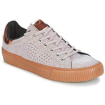 Schuhe Damen Sneaker Low Victoria DEPORTIVO LUREX Grau