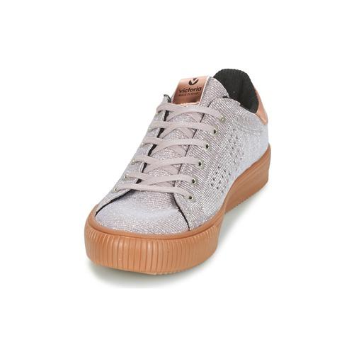 Victoria DEPORTIVO LUREX Grau  Schuhe Sneaker Low Damen 49