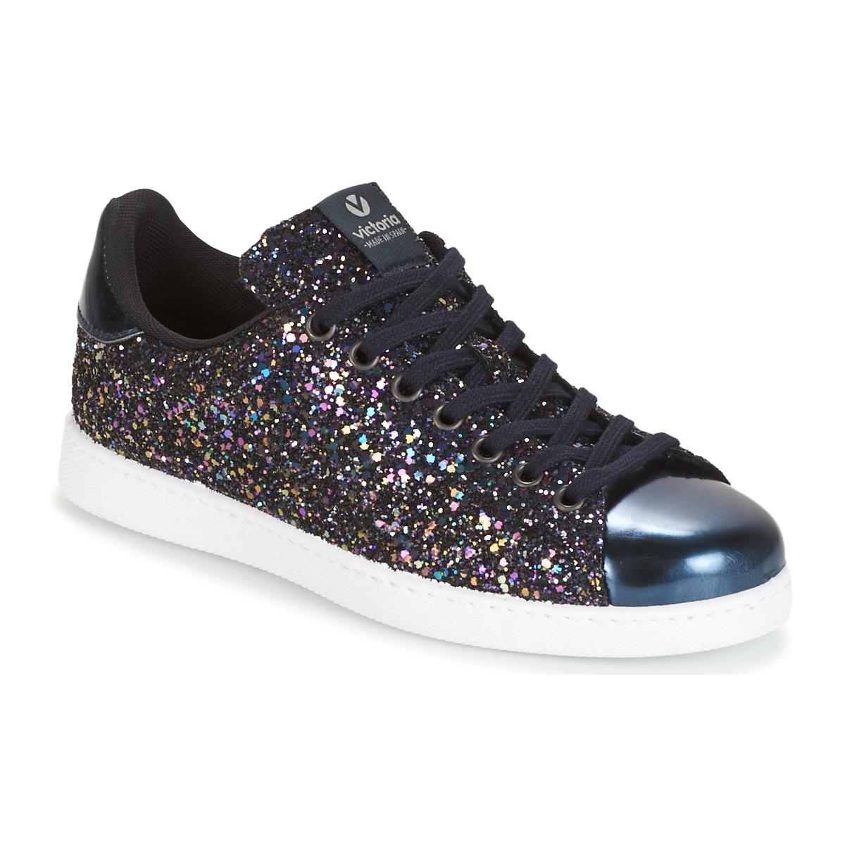 Victoria DEPORTIVO BASKET GLITTER Marine - Kostenloser Versand bei Spartoode ! - Schuhe Sneaker Low Damen 55,20 €